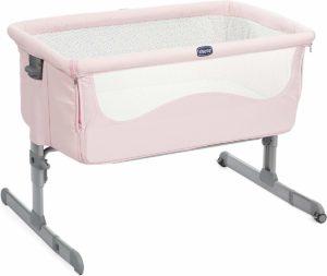 Cuna para colecho color rosa