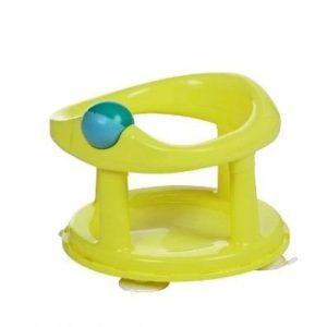 Asiento de bañera para bebés Safety color lima
