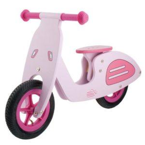 Bicicleta infantil Vespa en rosa