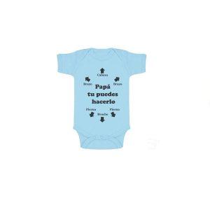 Body de manga corta para bebés