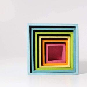 Cajas coloridas Grimms