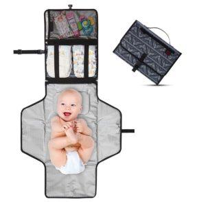 Cambiadores portátiles de viaje para bebés