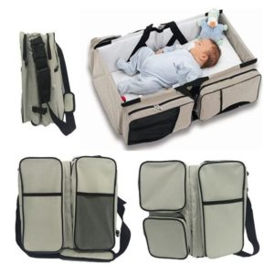 Cambiadores portátiles de viaje para recién nacidos