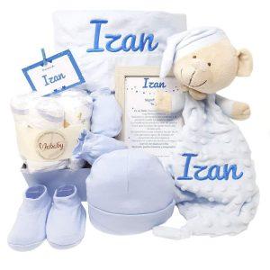 Canastilla personalizada para bebés
