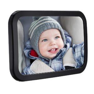 Espejos retrovisores bebés vidrio