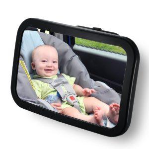 Espejos retrovisores bebés vigilancia