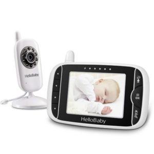 Intercomunicador bebés con infrarrojos