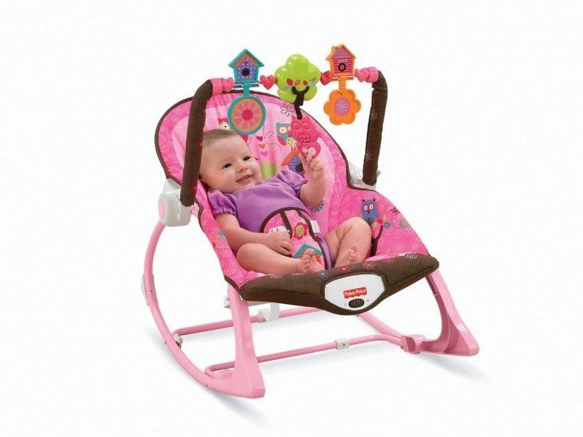 Las 7 mejores sillas mecedoras para beb s de 2018 for Bebe 3 meses silla paseo