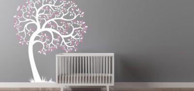 Los 6 mejores vinilos para habitaciones de bebé