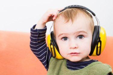 Auriculares protectores para bebés
