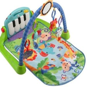 Manta gimnasio para bebés Fisher Price con piano