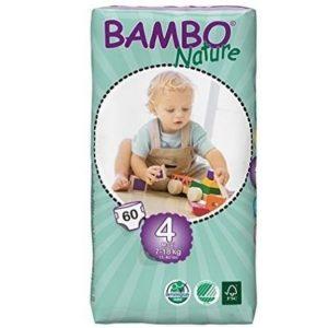 Pañales desechables Bambo ecológicos