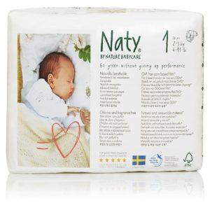 Pañales Eco para Recién Nacidos, Talla 1 (2-5 kg)