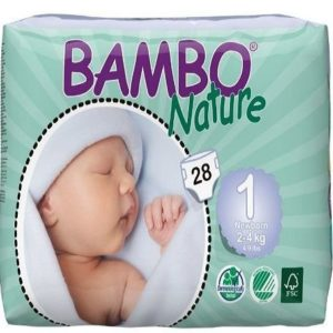 Pañales para recién nacidos Bambo