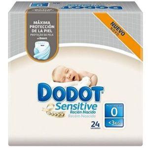 Pañales para recién nacidos Dodot Sensitive