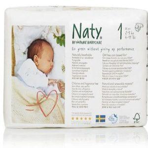 Pañales para recién nacidos Naty by Nature