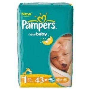 Pañales para recién nacidos Pampers