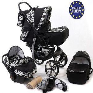 Silla de paseo de 3 ruedas Baby Sportive 3 en 1