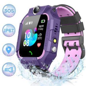 Smartwatch para niños impermeable