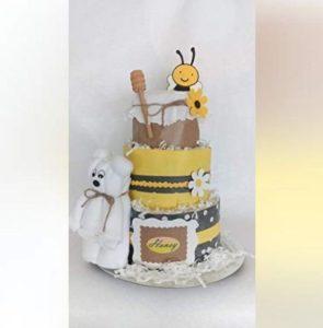 Tarta de pañales de abejas