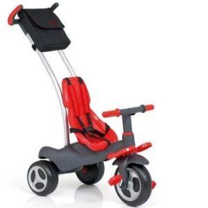 Triciclo para bebé Moltó con cinturón de seguridad
